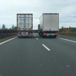 Předjíždění kamionů