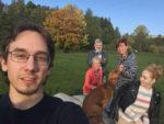 selfie s rodinou