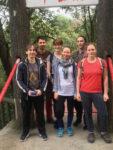 cizinci na výletě v číně
