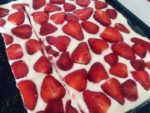 5X5 letní jahodový koláč na plechu